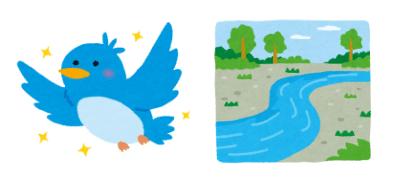 フロー型(Twitter)