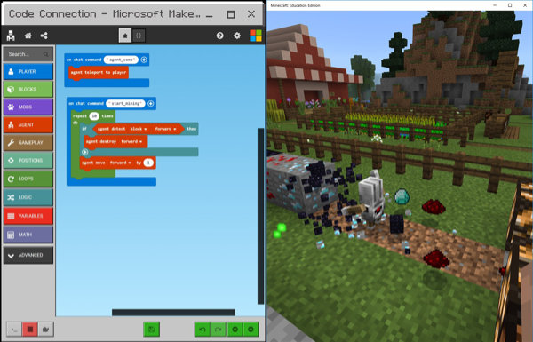 MakeCode for Minecraft