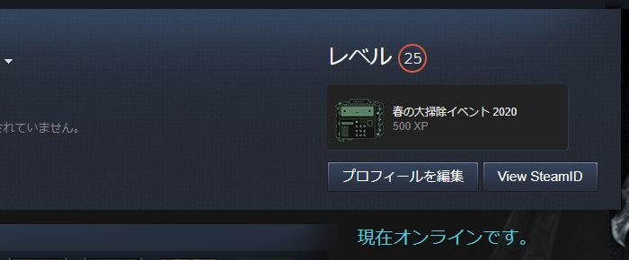 レベル23→25に上がった!