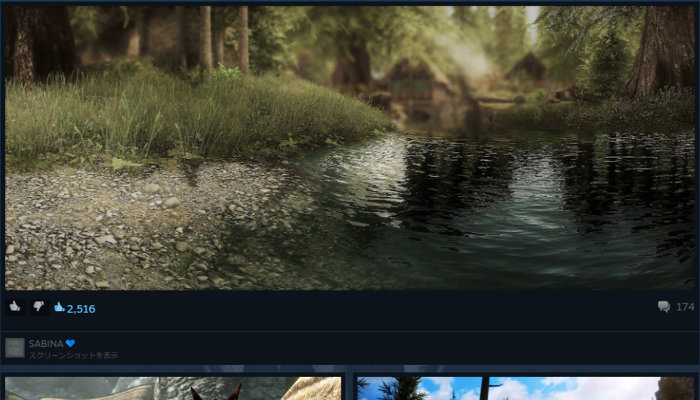 Skyrimのスクリーンショット