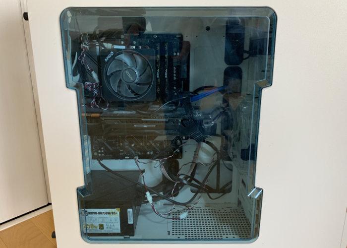 パソコンの組み立て