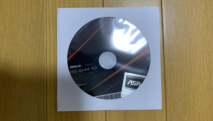 マザーボード インストールディスク