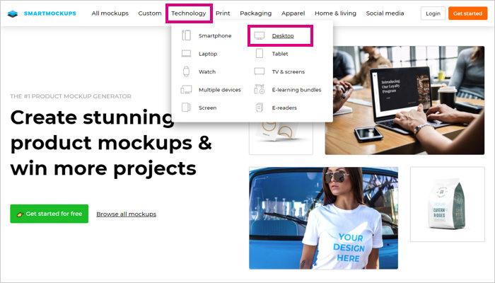 「Technology」→「Desktop」を選択