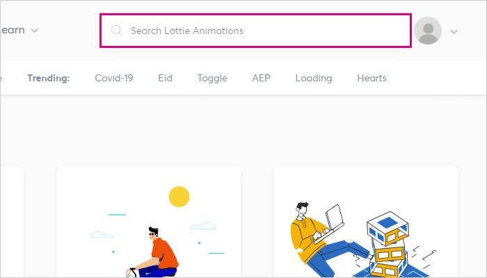 右上から検索もできる